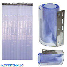 PVC Strip Curtain Door 3 Mt x 2 Mt Coldroom Warehouse Catering (300)