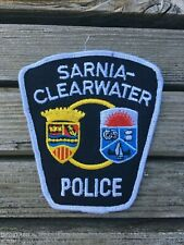 Sarnia-Clearwater (Ontario) Police Service - police patch-obsolete