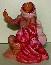 Fontanini Nativity, Samantha, seamstress sewing, Christmas, 2002 Collectors Club