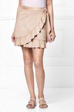 NEXT Suedette Wrap Mini Skirt 12/14/16/20/22  RRP £35
