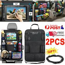 2pcs Car Seat Back Organiser Multi Pocket Storage Bag Pouch Holder Interior Tidy