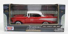Motor Max NEW American Classics 1957 Chevy Bel Air Premium Die Cast 1:24 Car 172
