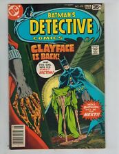 Detective Comics #478 479  Batman!  1st Clayface III!   by Marshall Rogers  1978