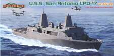 Cyber Hobby 1/700 U.S.S. San Antonio LPD-17 I  #7096  *New*Sealed*