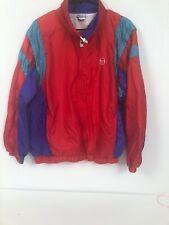 Vintage 90s Sergio Tacchini Color Block Windbreaker Jacket Mens Large/40