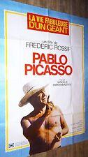 PABLO PICASSO !  Frédéric Rossif   affiche cinema 1979