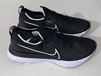 NEW Nike React Infinity Run Flyknit Size 11 Running Shoes Black White CD4371-002
