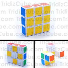 3x3x1 Super Floppy Cuboid Cube Qiyi White Puzzle Twisty 1x3x3 - US SELLER -