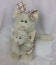 Boyds Collectible Mamma Mcfuzz & Missy Cats Archive Collection Retired
