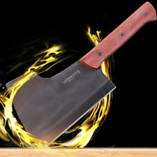 Stainless Steel Cleaver Knife Cut Chopping Slice Meat Large Kitchen Cooking home