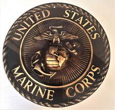 United States Marine Corps Emblem 11.75 Inch Aluminum Sign
