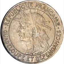 1903 Guadeloupe Franc, NGC MS 63, Scarce in Grade