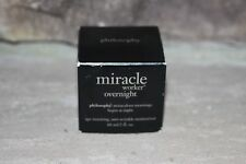 PHILOSOPHY MIRACLE WORKER OVERNIGHT AGE -RESETTING ANTI-WRINKLE MOISTURIZER 2 OZ