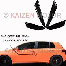 Universal Vehicle Doors Edge Protector Guard Anti-scratch Black Carbon Fiber