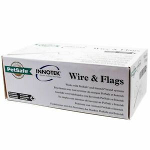 Innotek Petsafe Wire And Flags for Expanding Pet Fence System *Open Box*