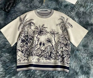 Pre-owned Short- Sleeved Dior Chez Moi  Sweater Size:S