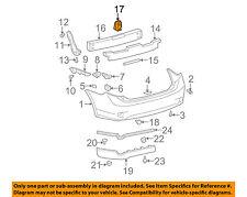 TOYOTA OEM 09-13 Corolla Rear Bumper-Mount Bracket Left 5218212420