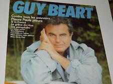 LP GUY BEART GB-00029 RCA contre tous les pouvoirs PLEURE PAULE J louis BARRAULT