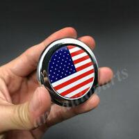 3D Metal USA American Flag Car Emblem Badge Motorcycle Decals Sticker Fairing
