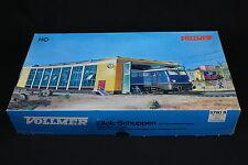 W286 VOLLMER Train Ho Maquette 5760 B Remise double  locomotive electrique stall
