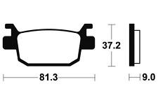 Plaquettes de frein Bendix MA332 Organique pour HONDA