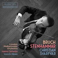 Christian Svarfvar - Christian Svarfvar: Bruch/Stenhammar [CD]