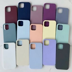 Case For iPhone 11 12 Pro Max XS XR X 8 7 Plus SE 2nd Shockproof Silicone Cover