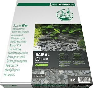 DENNERLE Naturkies Plantahunter Baikal Aquarium Bodengrund 3-8mm