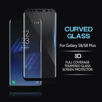 For Samsung Galaxy Note8/S8+ Tempered Glass FULL COVER Curved Screen Protector