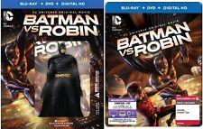 Best Buy + Target Exclusive Steelbook Batman Vs Robin Blu-ray