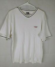 vtg Tommy Jeans men's casual shirt white size xl