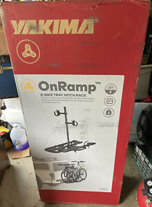 Yakima OnRamp E-Bike Tray Hitch Rack -New Factory Sealed -In Stock Fast Shipping