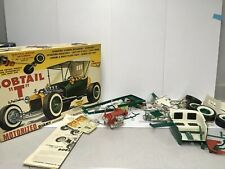 1957 Vintage Lindberg Ford Bobtail T Big Green Rod Model 1:8 th Scale PARTS ONLY