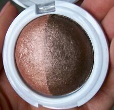 HARD CANDY Kal-Eye-Descope Baked Eyeshadow Duo Shadow RUSH HOUR Bronze Brown New