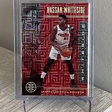 2019-20 Panini Illusions HASSAN WHITESIDE #1 /8 NBA TORONTO Raptors C