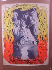 Vintage Poster Hendrix Experience  Rock n' Roll 1968 Inv#G1413