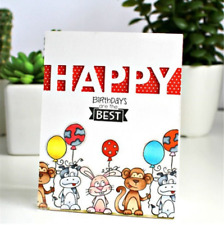 Happy Letters Metal Cutting Dies Stencil Scrapbooking Embossing Paper Card Craft
