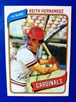 1980 Topps #321 Keith Hernandez Cardinals