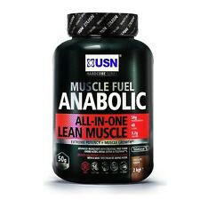 NEW USN 2kg Muscle Fuel Anabolic Protein Shake Creatine Amino Acids Chocolate