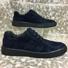 John VARVATOS USA 🇺🇸 STAR BEDFORD Midnight Suede Creeper Sneaker men's 9.5