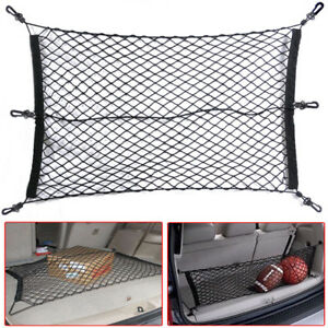 60X90cm Car SUV Elastic Nylon Rear Cargo Trunk Storage Organizer Flexible Net