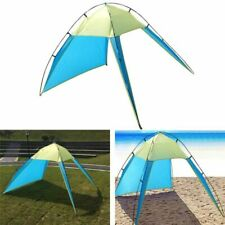 Beach Canopy Sun Shade Triangle Patchwork Tent Shelter Camping Fishing Outdoor