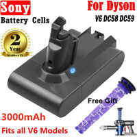 3.0A Battery For Dyson SV03 SV04 SV05 SV09 V6 Handheld Vacuum Cleaner Pre-Filter