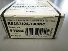 RS187J24/600NC FLEXCO ALLIGATOR STAPLE BELT FASTENER 54592
