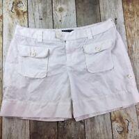 """Ralph Luren Polo Jean Company Casual White Short 5"""" Inseam Women's Size 8"""