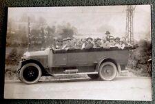 CPA. GAVARNIE. 65 - Automobile. Départ pour Gavarnie. Novelty Garage.