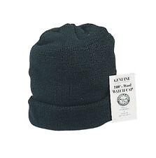 Wool Watch Cap  Size Fits Most - BLACK - MADE IN THE USA - Military Issue