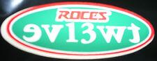 Vintage retro Roces Majestic 12 aggressive inline skate stickers & decals