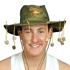 Hat Australian With Corks for Fancy Dress Party Accessory