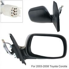 FOR 00-06 TOYOTA COROLLA E120 CE120 ZZE121 NZE120 ZZE120 WING POWER DOOR MIRRORS